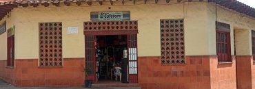 Fachada de almacen el cafetero en Ebéjico Antioquia